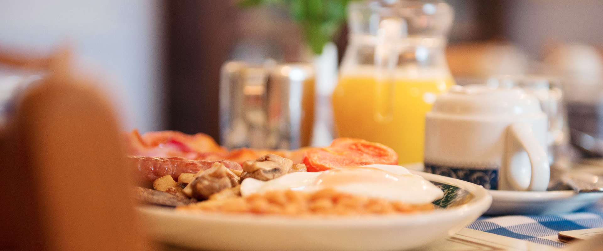 Enjoy a great breakfast in Devon